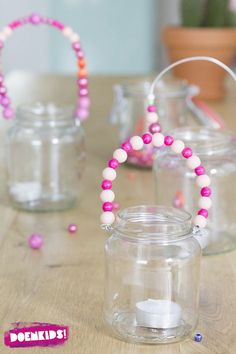 Zomerlantaarns DIY - Easy Crafts for All Easy Diy Crafts, Diy Crafts For Kids, Homemade Gifts, Diy Gifts, Diy Candle Labels, Fathersday Crafts, Mothers Day Crafts For Kids, Summer Crafts, Toddler Crafts
