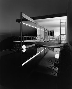 "scandinaviancollectors: ""RICHARD NEUTRA, Chuey Residence, Los Angeles, CA 1958. Photography by Julius Shulman. / Second Nature """