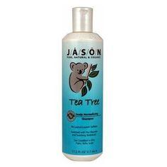 Jason Body Care: Shampoo, Tea Tree Oil Therapy 17.5 oz