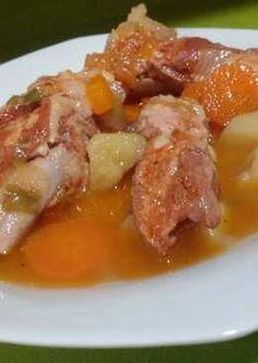 Guiso de costillas con patatas en olla rapida Cooker, Recipies, Pork, Beef, Chicken, Instant Pot, Carne Asada Fries, Casserole Recipes, Snap Peas
