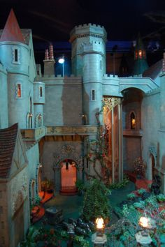 Fairy Castle dollhouse in Chicago's Museum of Science and Industry