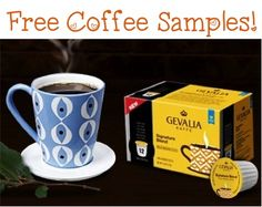 FREE Gevalia Coffee K-Cups or Ground Samples!!  #coffee