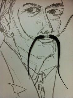 anne (w): Mustache design, curioso.....A experimentação de mustache design nas diferentes celebridades masculinas!