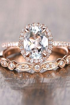 unique halo effect engagement rings 6
