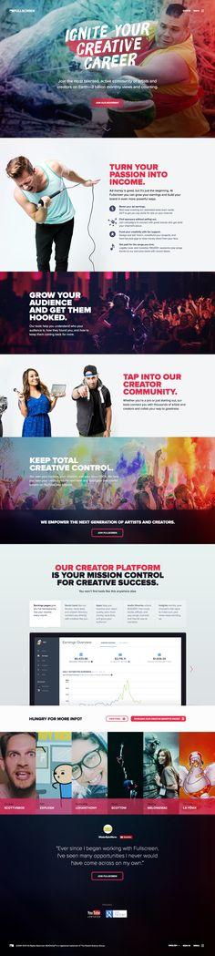 Fullscreen Marketing Site by Cody Iddings for Digital Telepathy