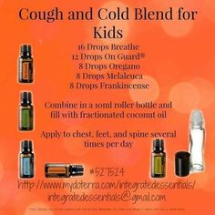 Image result for essential oil cough roller bottle for kids