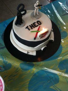 Recette gâteaux d'anniversaire pour une petite garçons qui aime bien StarWars Si vous voulez la recette contacter moi au 0617961853