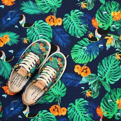The CO.5 Toucan & Flowers. Speechless.  Tucanes y Flores. Te dejaran sin palabras! #SYOUandColombia #toucan #flowers #MadeinColombia #sneakers #WalkWithUs