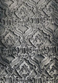 Laser cut ponyskin from Motta Alfredo at Lineapelle. This extreme layering of treatments was prevalent, resulting in a beautiful 3D effect leather in line with our 21st Century Romance macro trend