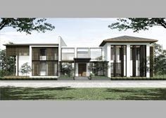 AYUTTHAYA HOUSE ,Thailand by LAAN ARCHITECTS  laanarchitects@gmail.com