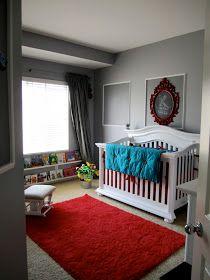red grey nursery