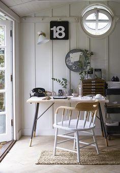 26 inspirerende thuiskantoren | Nobelsleven.nl