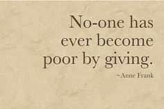Thanks for this powerful reminder, Anne Frank.