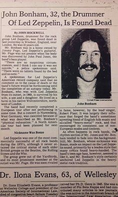 A pretty appalling critique of Zep, but a few details I never knew, like that JPJ found him. Very sad....