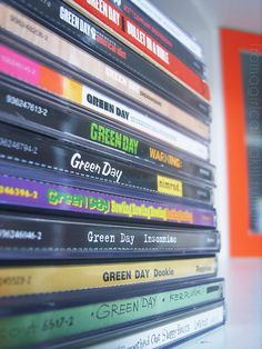 Green Day CD's