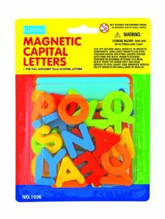 megcos Magnetic Capital Letters in a Blister Card, 36-Piece, http://www.amazon.com/dp/B001QY8CPO/ref=cm_sw_r_pi_awdm_kks0ub1MD7WDD