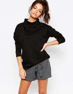 Image 1 of New Look Funnel Neck Sweat