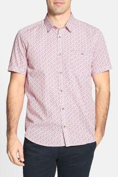Yurtamp Short Sleeve Printed Sport Shirt