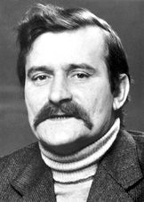 Lech Walesa, anti-communist leader of Solidarity in Poland, supported by Polish Pope John Paul II, served as President of Poland from 1990-1995.