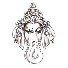 lord Ganesha tattoo idea