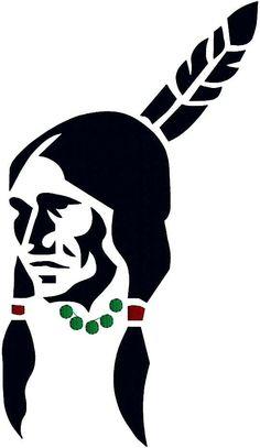 siluets indian - Buscar con Google Native American Symbols, Native American Design, Native Design, American Indian Art, Native American Beading, American Indians, Stencil Art, Stencil Designs, Pierre Brice