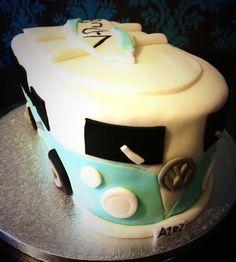 Personalised V-Dub Cake.