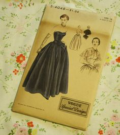 Vogue Special Design S 4048 Vintage Sewing by EleanorMeriwether, $68.00