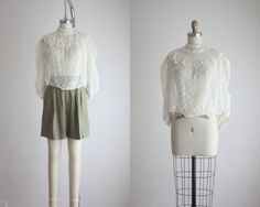 antique lace blouse by 1919vintage on Etsy