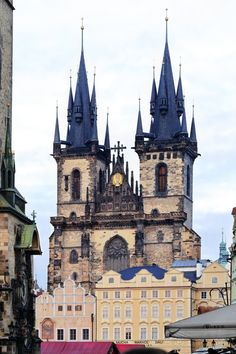 Prague (by Sblendone)All things Europe Places To Travel, Places To See, Travel Destinations, Prague Old Town, Prague Czech Republic, City Landscape, Wanderlust Travel, Wanderlust Quotes, Countries Of The World