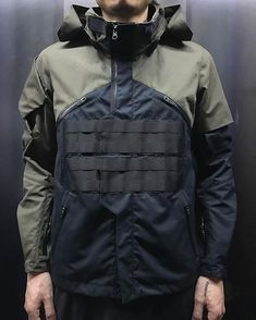 Jackets certainly are a vital part of every man's closet. Men require outdoor jackets for several functions as well as some varying weather conditions Moda Cyberpunk, Cyberpunk Fashion, Mode Costume, Moda Blog, Tactical Clothing, Tactical Wear, Streetwear, Revival Clothing, Cool Outfits