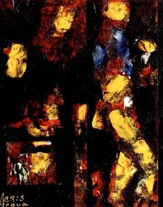 "Saatchi Art Artist Cris Acqua; Painting, ""4-Expresionismo Abstracto."" #art http://www.saatchiart.com/art-collection/Painting/Expresionismo-ABSTRACTO/45144/70230/view"