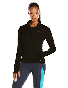 HEAD Womens Brushback Fleece Moto Jacket -- Be sure to check out this awesome product. (This is an affiliate link) #TrackActiveJackets