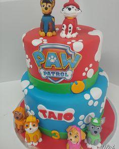 #pawpatrol #puppies #dogs #pawprints #bones #cake #dlish Paw Patrol, Bones, Puppies, Birthday Cakes, Desserts, Unisex, Food, Puppys, Meal