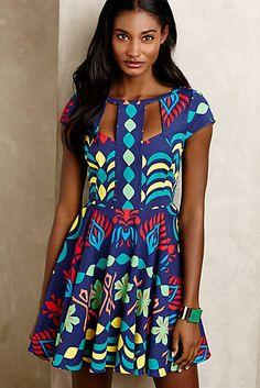 La Paz Cutout Dress