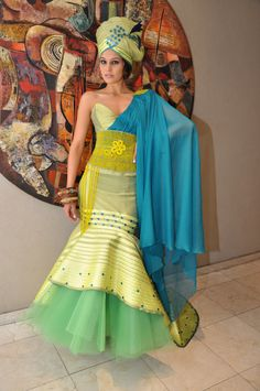 Awesome African Dresses African Traditional Wedding Dresses for Women 2015 2 - South African Traditional Dresses, Traditional Dresses Designs, Traditional Wedding Dresses, Traditional Outfits, Modern Traditional, African Inspired Fashion, African Print Fashion, Africa Fashion, African Print Dresses