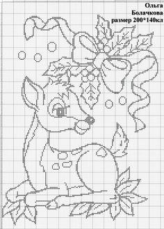 Tiny Cross Stitch, Xmas Cross Stitch, Cross Stitch Christmas Ornaments, Cross Stitch For Kids, Cross Stitch Alphabet, Cross Stitch Flowers, Cross Stitch Charts, Cross Stitch Designs, Cross Stitching