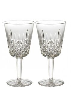 Waterford Goblets: Shop the entire Waterford® Crystal Goblets Collection including Michael Aram Jaipur, Lismore & Colleen Essence Red Wine Goblets. Waterford Lismore, Waterford Crystal, Crystal Glassware, Wine Time, Decorative Accessories, Wine Glass, Dining, Crystals, Classic