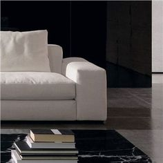 minotti jagger high back and large armrest sectional sofa style leather sectional sofa u0026 leather sofa - Modern Sofas