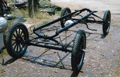 Full Chassis Old Race Cars, Pedal Cars, Old Cars, Vintage Cars, Antique Cars, T Bucket, Ford Models, Car Parts, Cars And Motorcycles