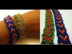 ▶ Friendship Bracelet - Heart Pattern Howto DIY Bracelet - YouTube
