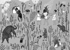 Perfectly Prepared (part I) - illustration by Rita Fürstenau