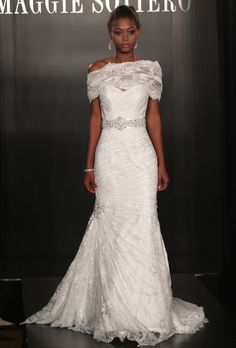 Brides.com: Maggie Sottero - Spring 2013. Gown by Maggie Sottero  See more Maggie Sottero wedding dresses in our gallery.
