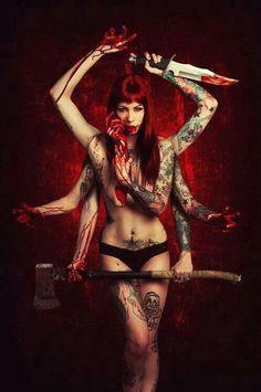girls Sexy horror