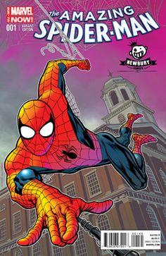 Amazing Spider-Man Vol 3 Newbury Kevin Nowlan Color Variant Cover Marvel Comic Book Covers, Comic Books Art, Newbury Comics, Midtown Comics, Comics For Sale, Comic Book Collection, Marvel Comic Character, Amazing Spiderman, Marvel Vs
