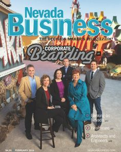 Our President, Kassi Belz, on the cover of Nevada Business Magazine.