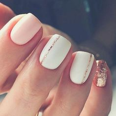 Want some ideas for wedding nail polish designs? This article is a collection of our favorite nail polish designs for your special day. Read for inspiration Nail Polish Designs, Nail Art Designs, Hair And Nails, My Nails, Gel Toe Nails, Coffin Nails, Diy Ongles, Short Nail Manicure, Short Gel Nails