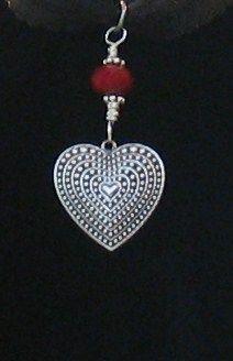 Red Heart Earrings
