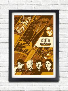 Babylon 5  Season FIVE  2262  17x11 Poster by bensmind on Etsy, $19.99