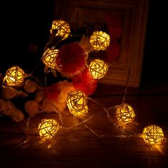 Cheap christmas decorations for, Buy Quality lighting weddings directly from China light rattan Suppliers: 10LED Christmas Light Indoor String Light Rattan Ball Lights Wedding Birthday Party Christmas Decorations For Home
