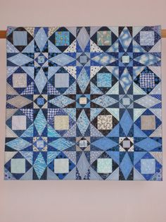 Storm at Sea wall quilt by tinacurran on Etsy, $600.00
